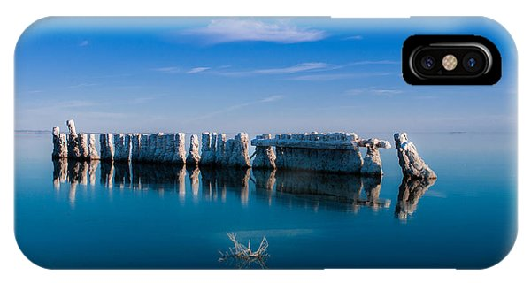 Reflection At Salton Sea IPhone Case