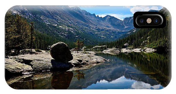 Reflection In Mills Lake IPhone Case
