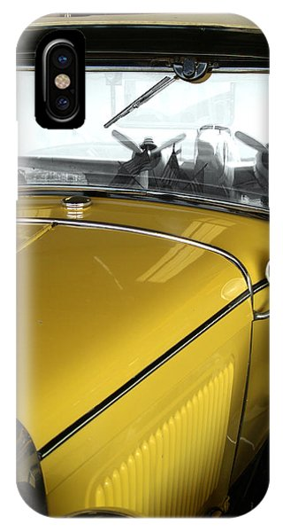 Reflection Of The Past IPhone Case