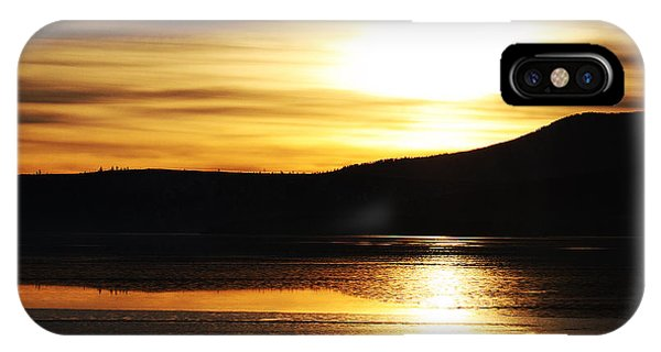 Reflection On Lake Klamath IPhone Case
