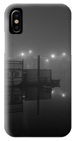 Reflection On Misty Thames  IPhone Case