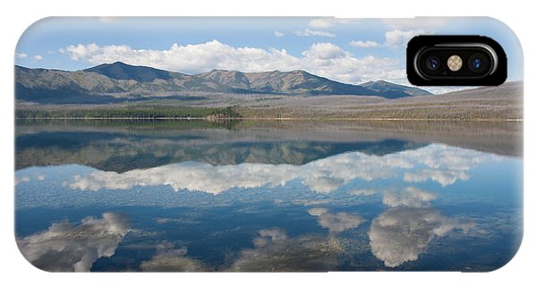 Reflections At Glacier National Park IPhone Case