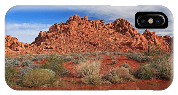 Reflections At The Valley Of Fire IPhone Case
