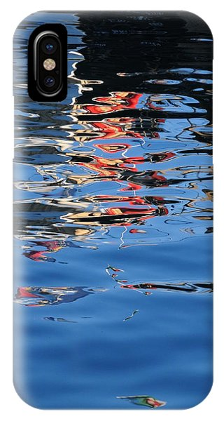 Reflections In Red IPhone Case
