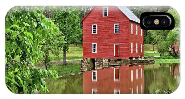 Reflections Of A Retired Grist Mill IPhone Case