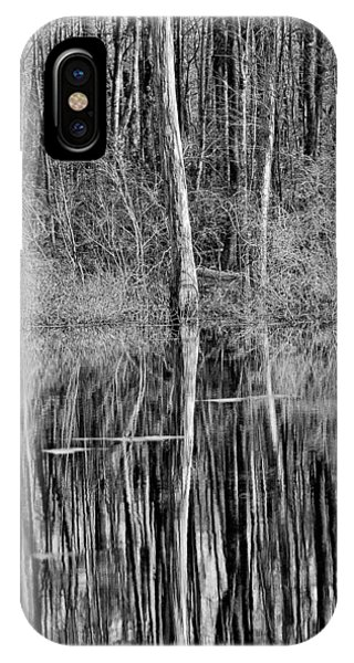 Reflections Of A Swamp IPhone Case