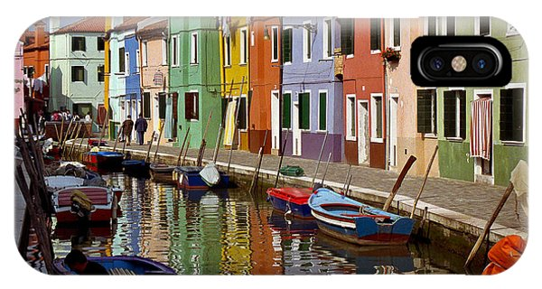 Reflections Of Burano IPhone Case