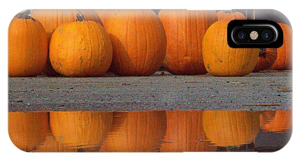 Reflections Of Pumpkin IPhone Case
