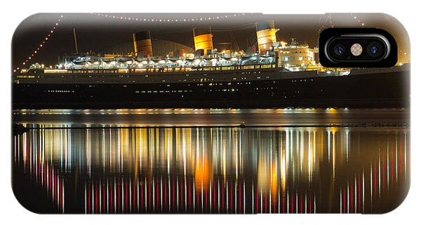Reflections Of Queen Mary IPhone Case