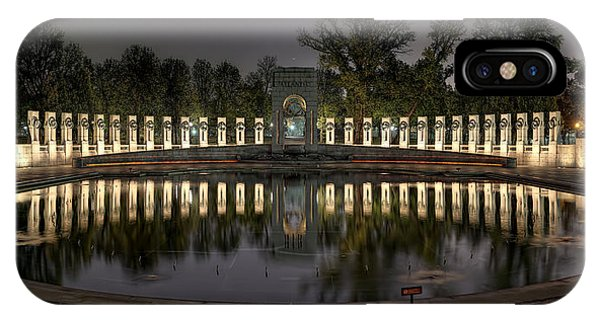 Reflections Of The Atlantic Theater IPhone Case