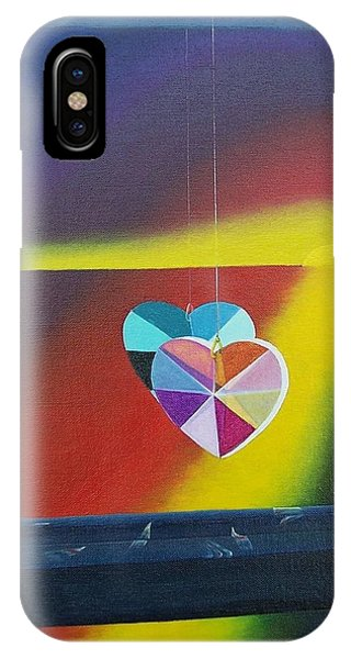 Reflections Of The Heart IPhone Case
