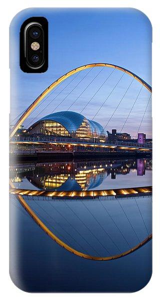 Reflections Of The Millenium Bridge IPhone Case