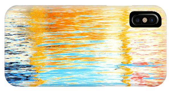 Reflections Of The Setting Sun IPhone Case