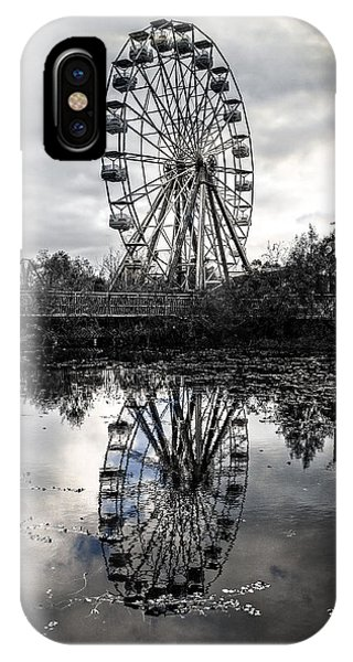 Reflections Of The Wheel IPhone Case