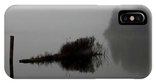 Reflections On A Lake IPhone Case