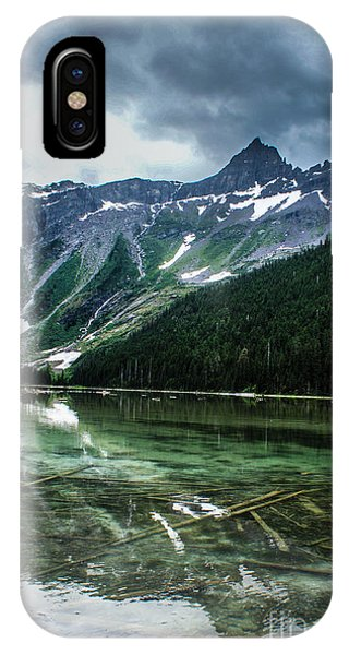 Reflections On Avalanche Lake  IPhone Case