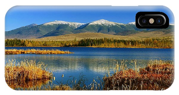 Reflections On Cherry Pond IPhone Case