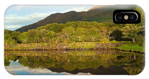 Reflections On Loch Etive IPhone Case