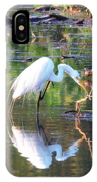 Reflections On Wildwood Lake IPhone Case