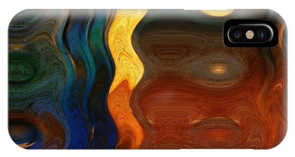 Reflective Abstracts IPhone Case