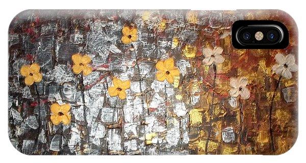 Reflective Floral Friends IPhone Case
