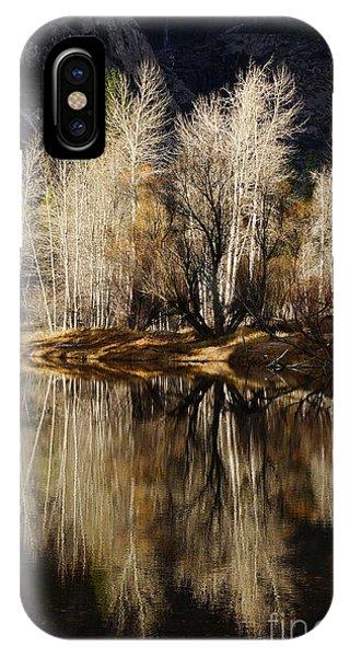 Reflex Of Trees IPhone Case
