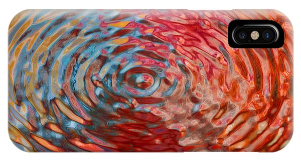 Refraction Abstraction IPhone Case