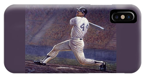 Reggie Jackson IPhone Case