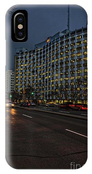 iPhone Case - Regina At Night by Viktor Birkus