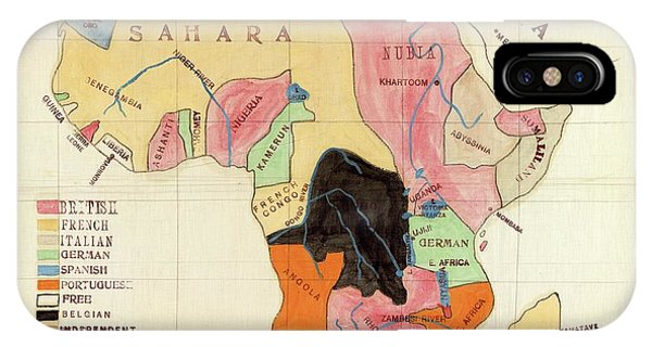 East Africa iPhone Case - Regions Of Africa by Library Of Congress, Geography And Map Division
