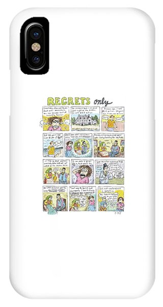 Regrets Only IPhone Case