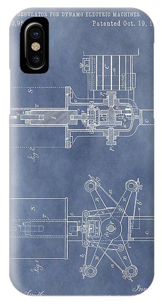 Regulator For Dynamo Electric Machine Patent IPhone Case
