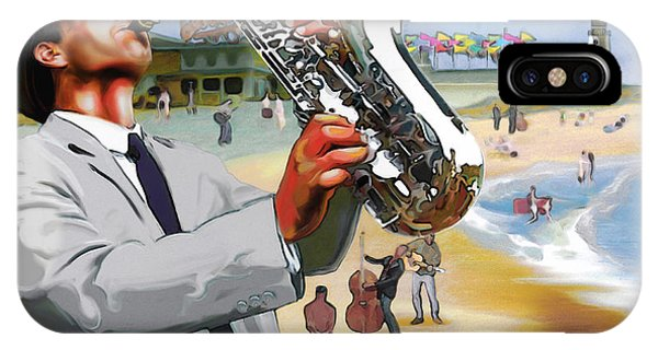 Rehoboth Beach Jazz Fest 2006 IPhone Case