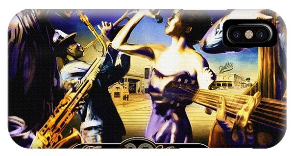 Rehoboth Beach Jazz Fest 2009 IPhone Case
