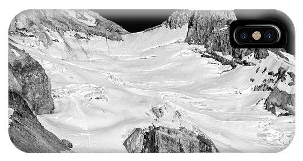 Reid Glacier And Illumination Rock IPhone Case