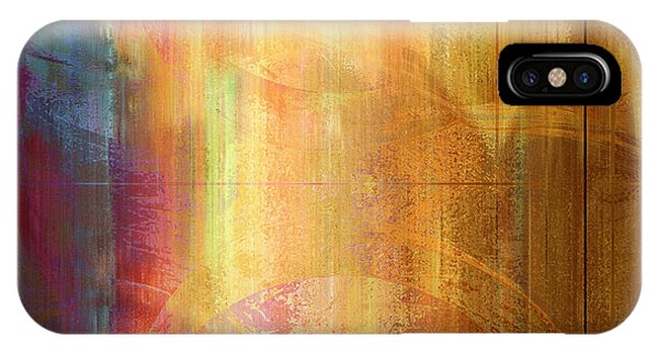 Reigning Light - Abstract Art IPhone Case