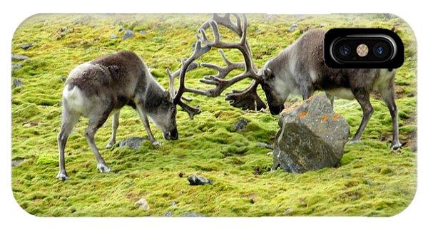 Reindeer Warfare IPhone Case