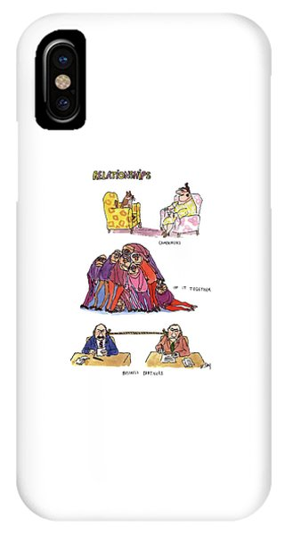Relationships IPhone Case