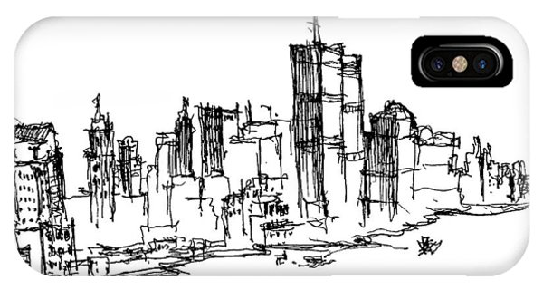 Remember World Trade Center IPhone Case