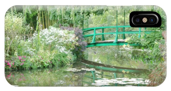 French Painter iPhone Case - Remembering Monet  by Olivier Le Queinec