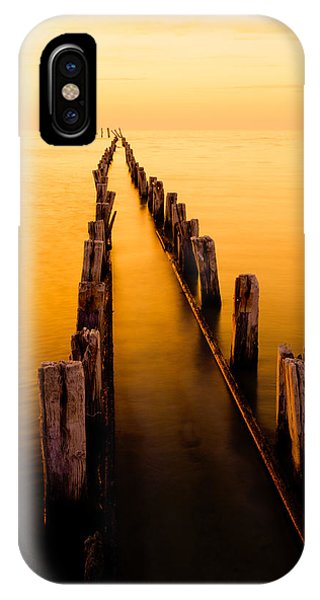Scenery iPhone Case - Remnants by Chad Dutson