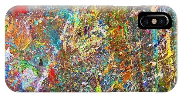iPhone Case - Remnants Of Paintings Past by Julie Acquaviva Hayes