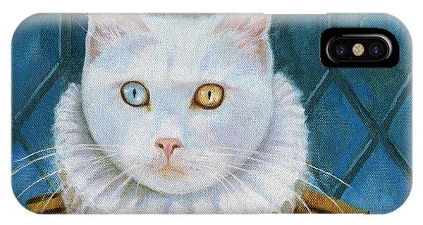 Renaissance Cat IPhone Case