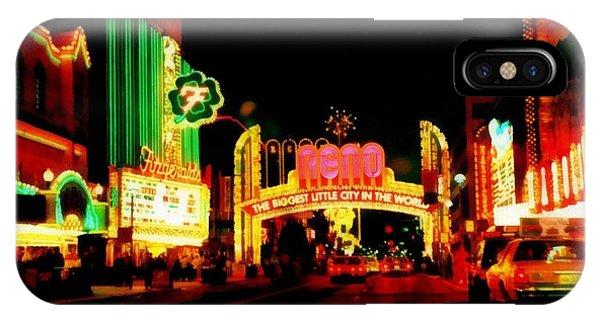 Reno At Night IPhone Case