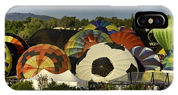 Reno Balloon Race Panorama IPhone Case