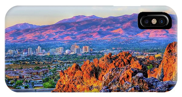 Reno Nevada Sunrise IPhone Case