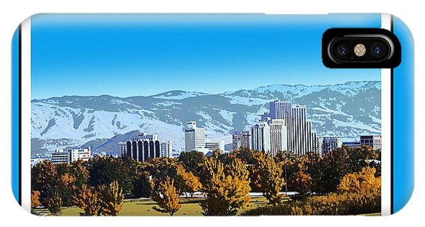 Reno Skyline From Rancho San Rafael IPhone Case