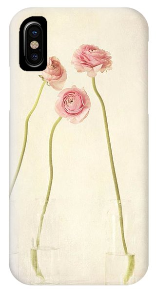Life iPhone Case - Renoncules by Priska Wettstein
