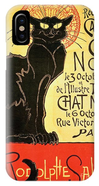 Paris iPhone Case - Reopening Of The Chat Noir Cabaret by Theophile Alexandre Steinlen