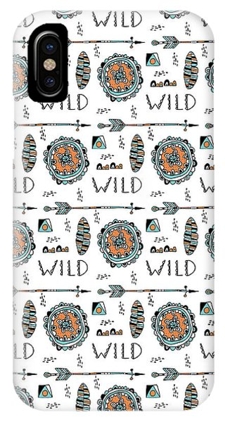 Cute iPhone Case - Repeat Print - Wild by MGL Meiklejohn Graphics Licensing